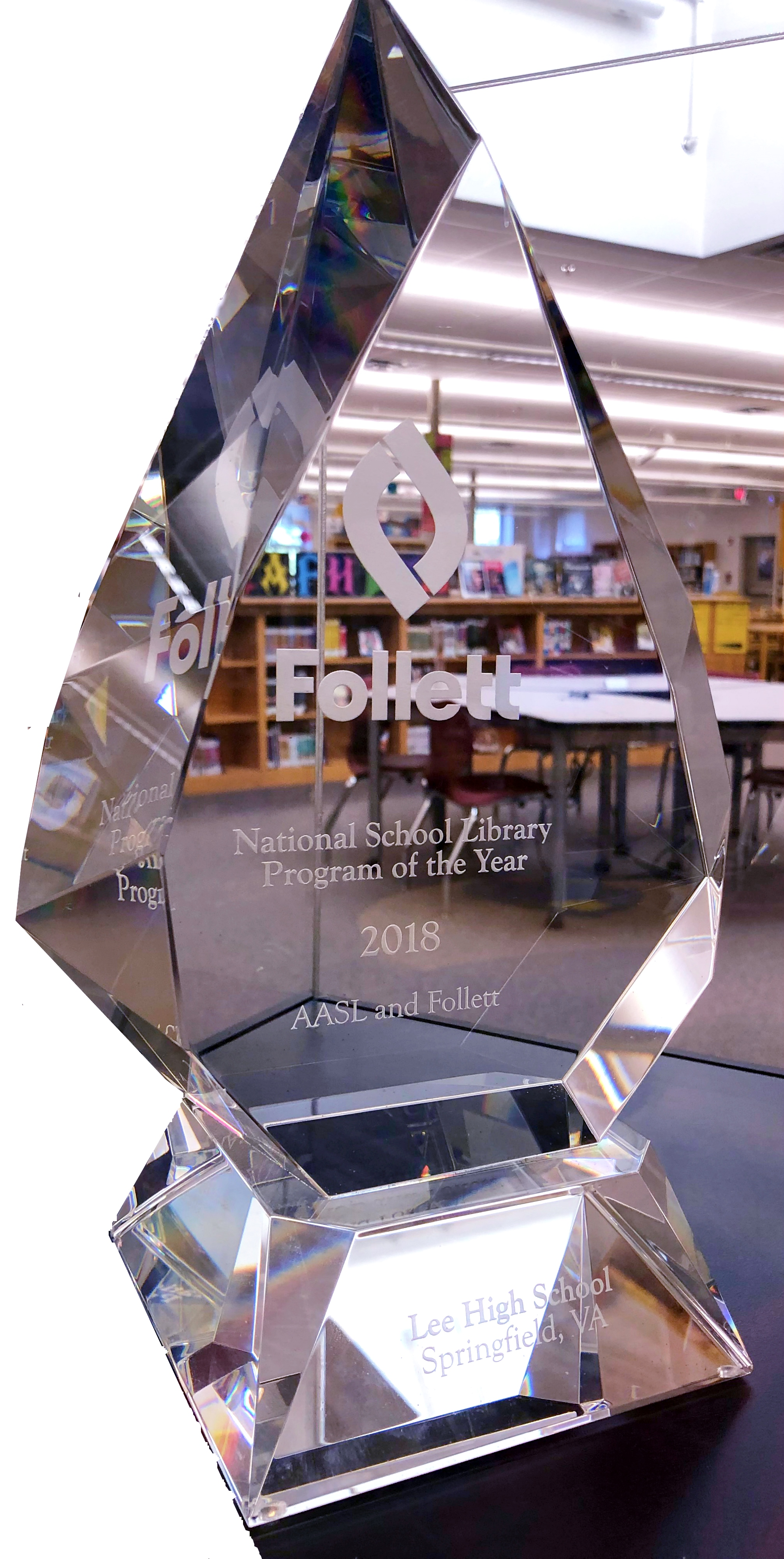 national school library of the year award