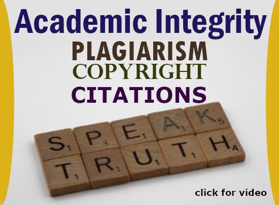 学术诚信,剽窃,版权,引用,讲真话