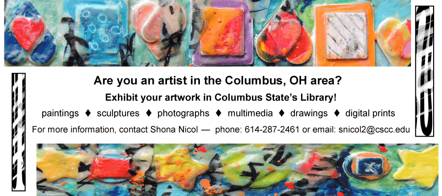 Display your art at Columbus State Library
