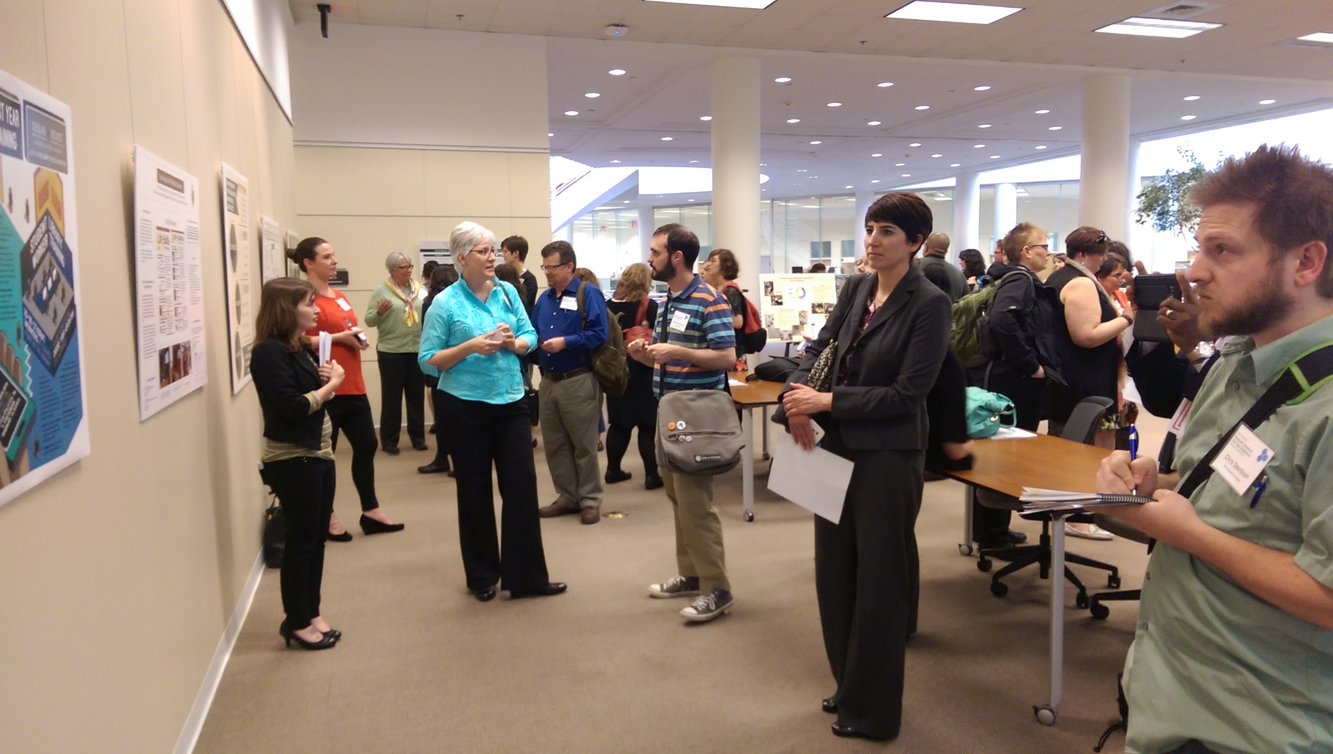 2016 Conference Poster Session Attendees