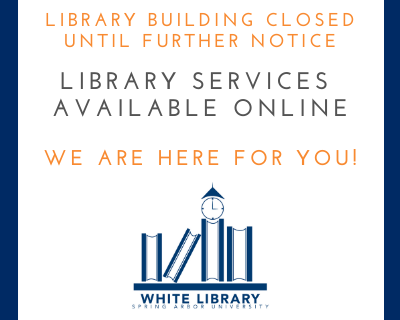 Library building closed get help online