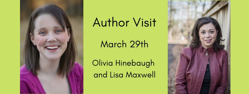 Olivia Hinebaugh and Lisa Maxwell visit FCHS March 29th