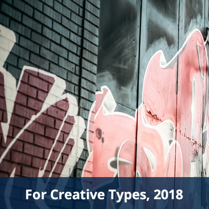 For Creative Types, 2018