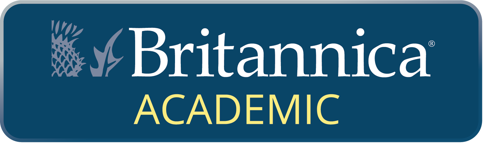 Britannica Academic button