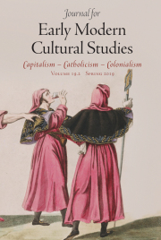 Cover of Journal for Early Modern Cultural Studies