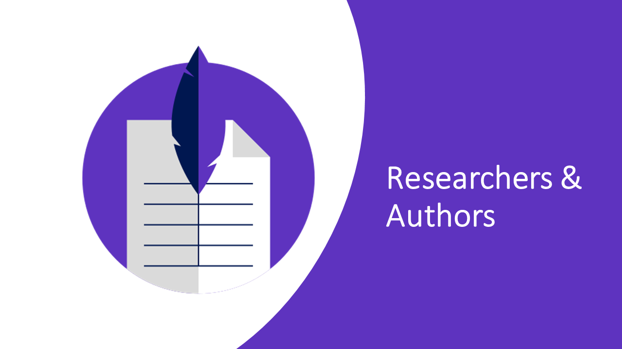 Resources for researchers & authors