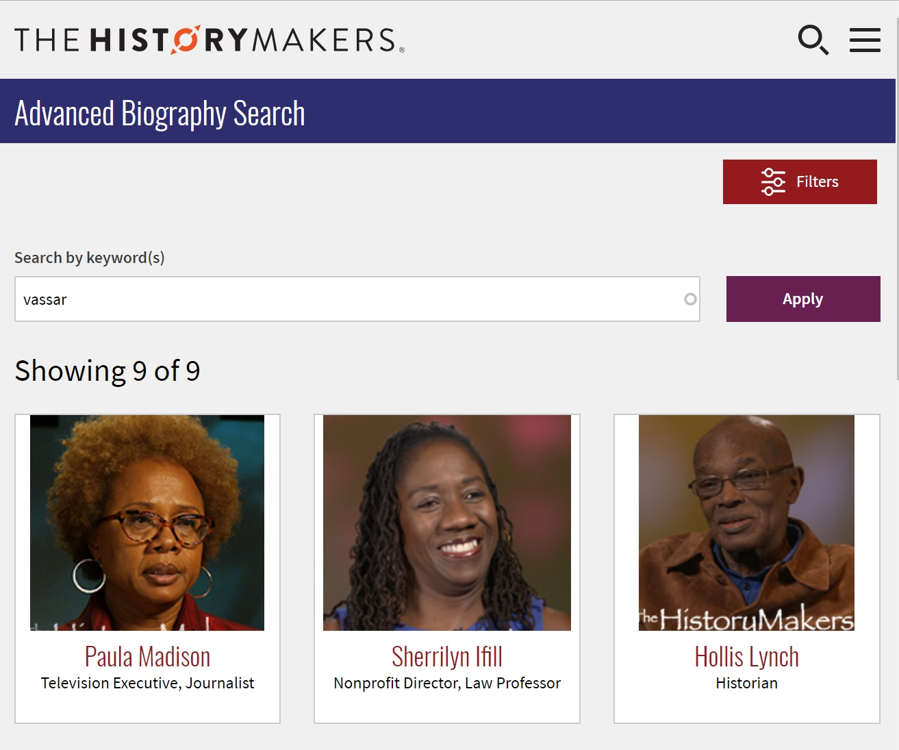 HistoryMakers.org