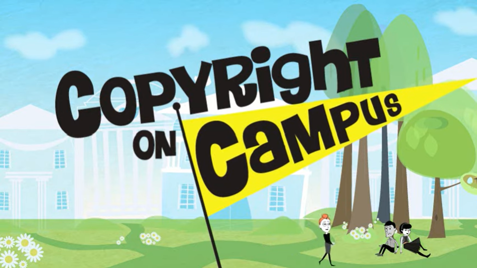 Watch Copyright on Campus via YouTube