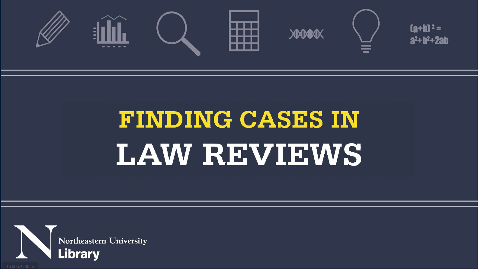 Finding cases in law reviews