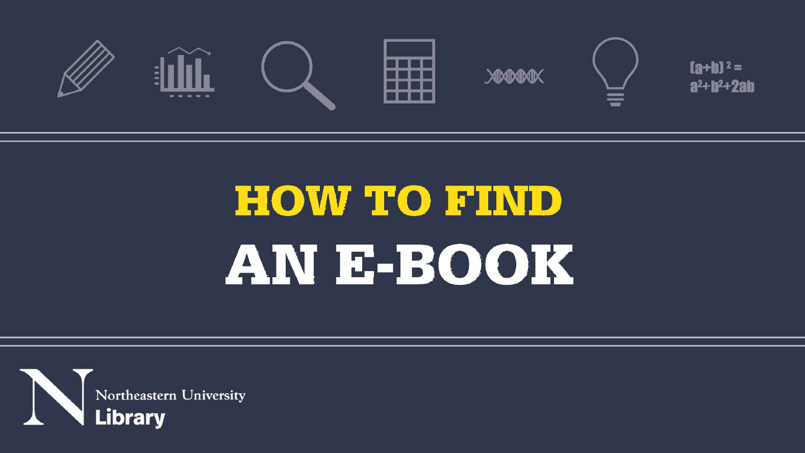 How to find an e-book