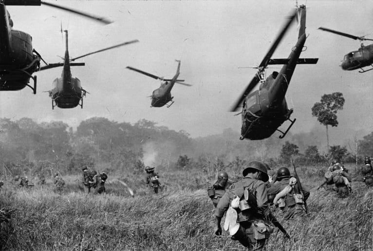 U.S. Army helicopters in the Vietnam War