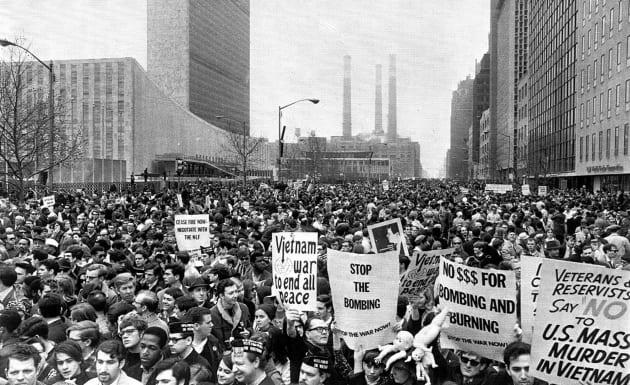 Vietnam War protesters