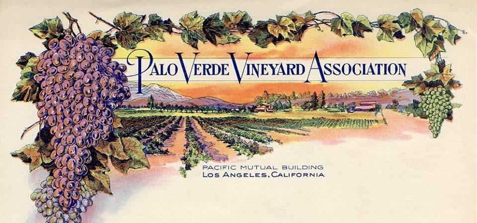 Palo Verde Vineyard Association Letterhead