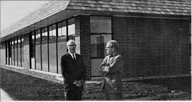 Dr. Eccles with Dean Surgenor