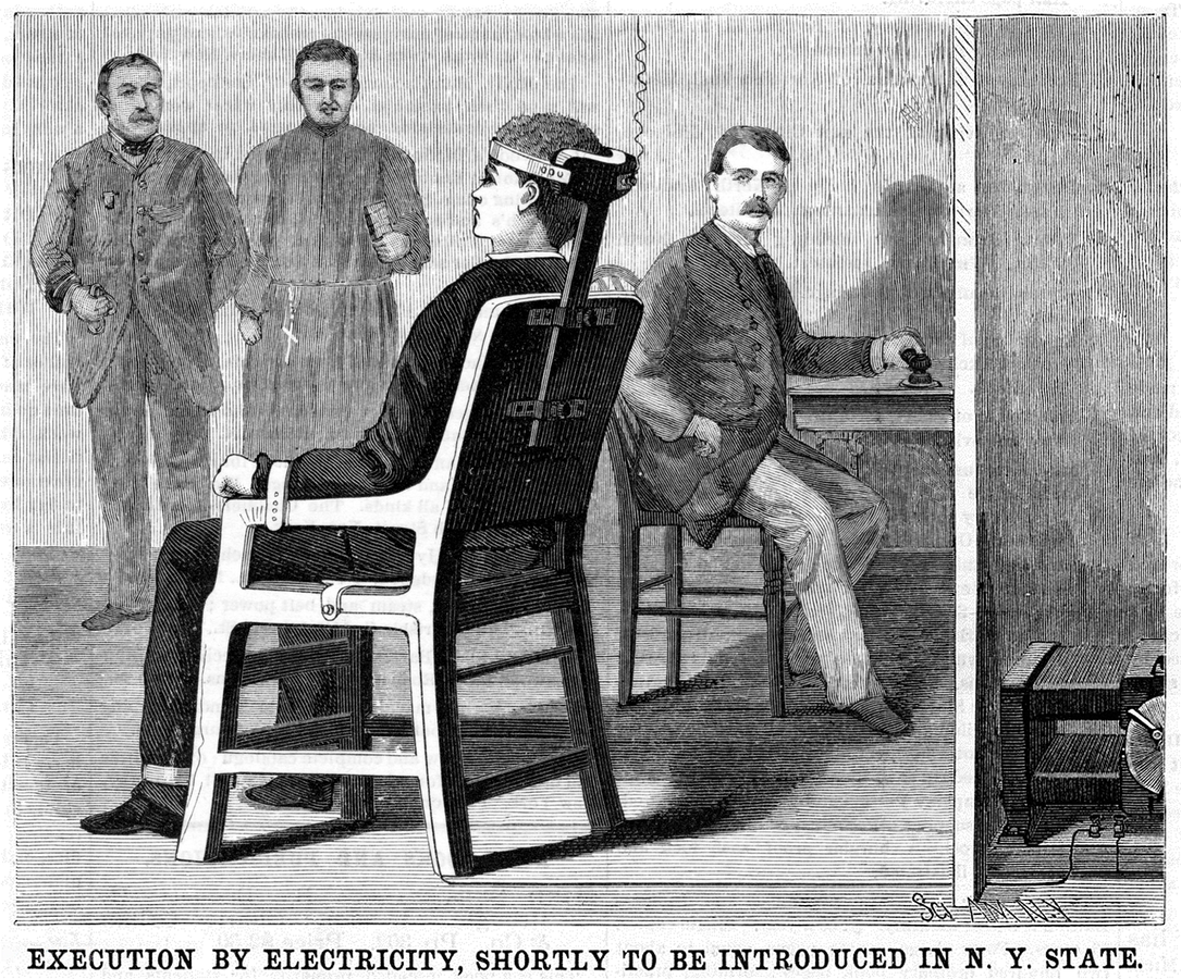 Execution by Electricity image