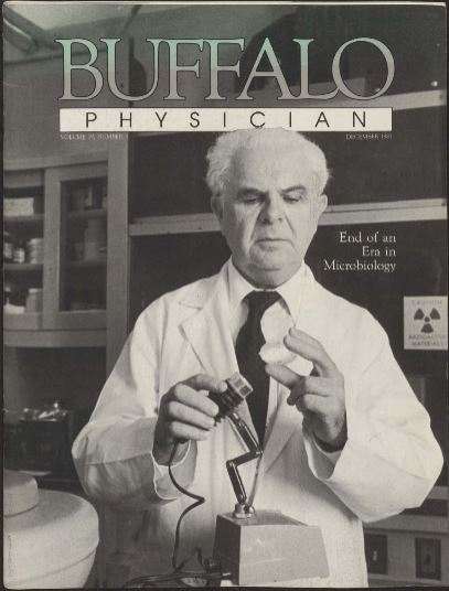 Felix Milgrom Buffalo Physician cover December 1985