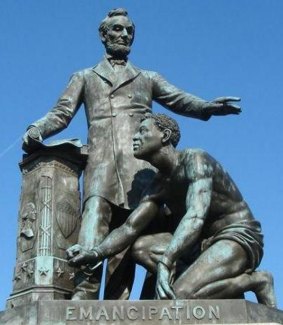 Emancipation memorial, Boston, courtesy Wikimedia Commons