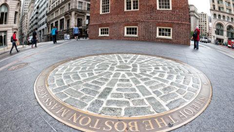 Boston Massacre Site at State Street Station