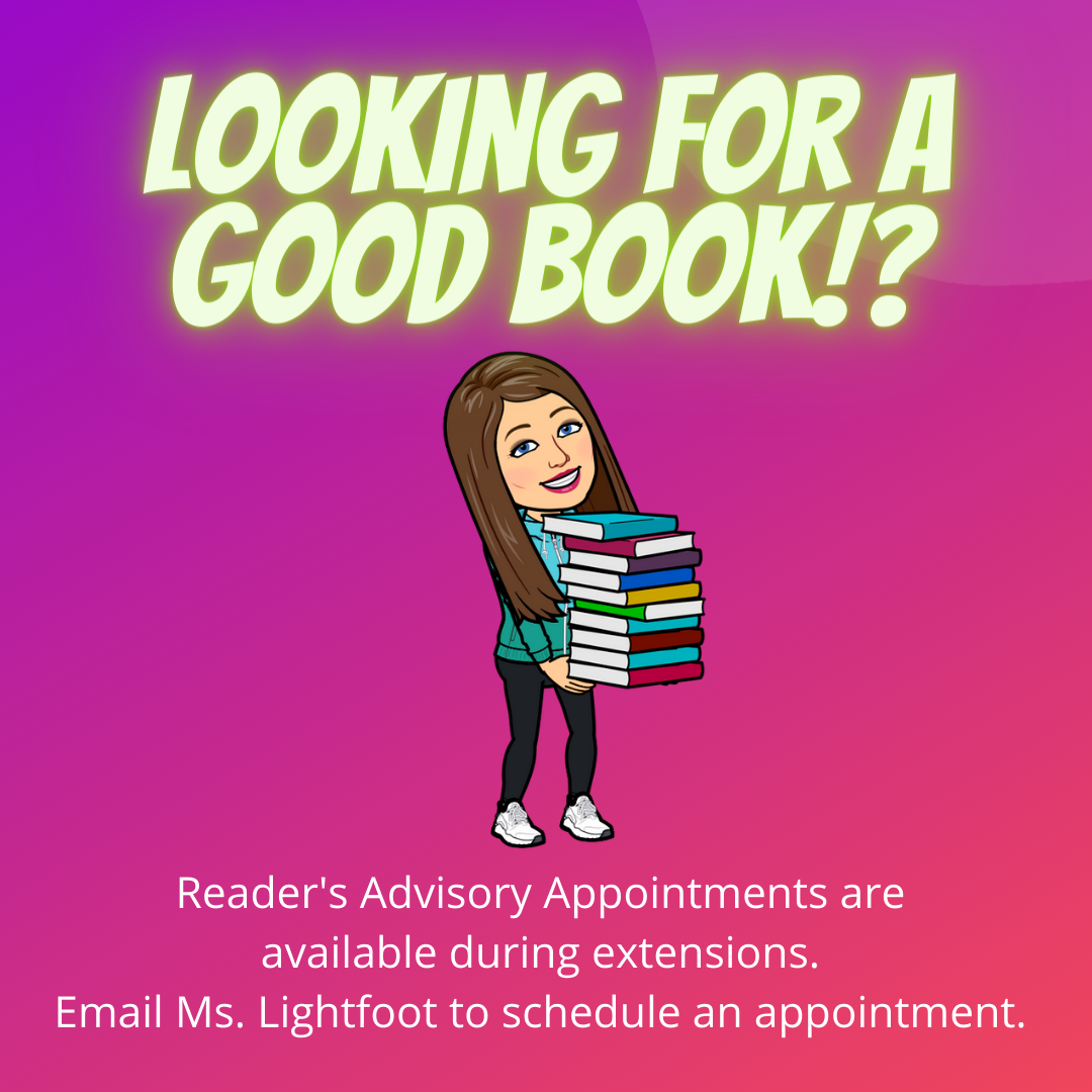 Reader's Advisory Appointments