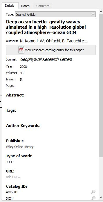mendeley edit reference screenshot