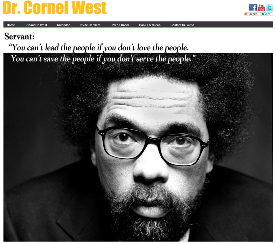 Cornel West Website