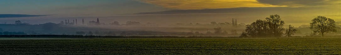 landscape Leicestershire England by John Moore