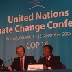 Photo of delegates to the United Nations COP14