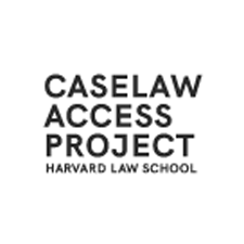 Caselaw Access Project Harvard Law School Logo