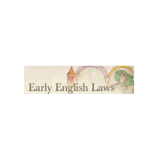 Early English Laws Logo