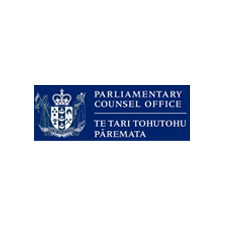 New Zealand Parliamentary Counsel's Office Logo