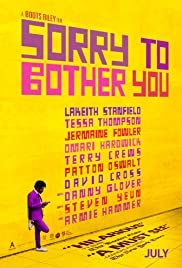 Movie poster for Sorry to Bother You