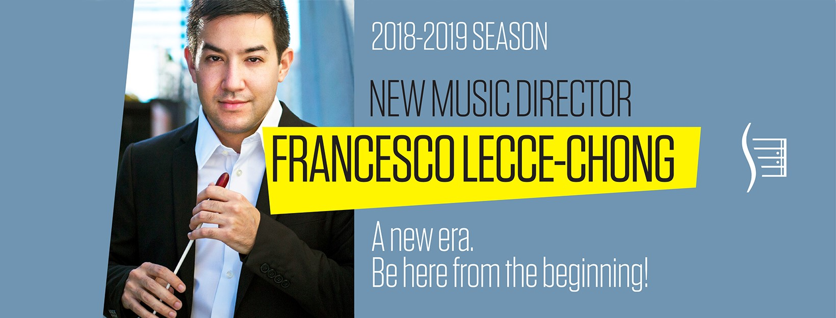 Tiers of Heaven: a pre-concert conversation with new Santa Rosa Symphony Music Director & Conductor Francesco Lecce-Chong