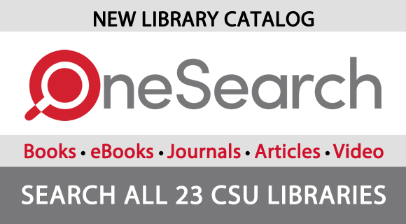 OneSearch - the new library catalog is here!