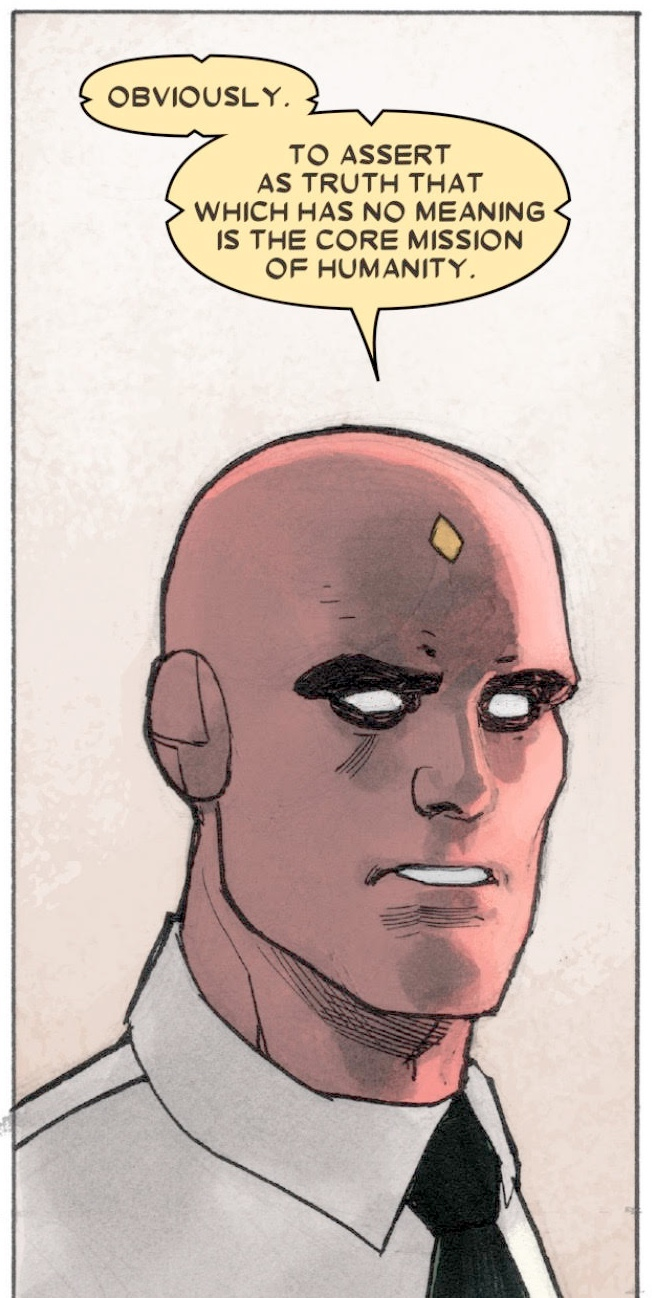 Panel from The Vision Vol. 1