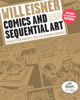 Cover art for Eisner's Comics and Sequential Art