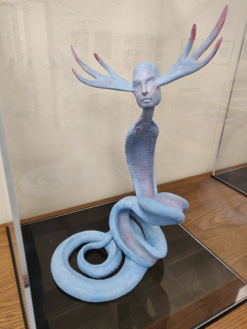 Ceramic sculpture by Brad Ren Nelson