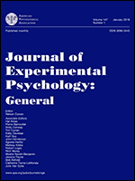 Cover image of Journal of Experimental Psychology
