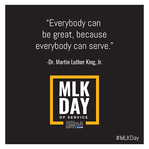 Everybody can be breat, because everyboday can serve. Quote of Dr. Martin Luther King, Jr.