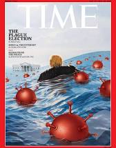 Cover of Time magazine of August 2020