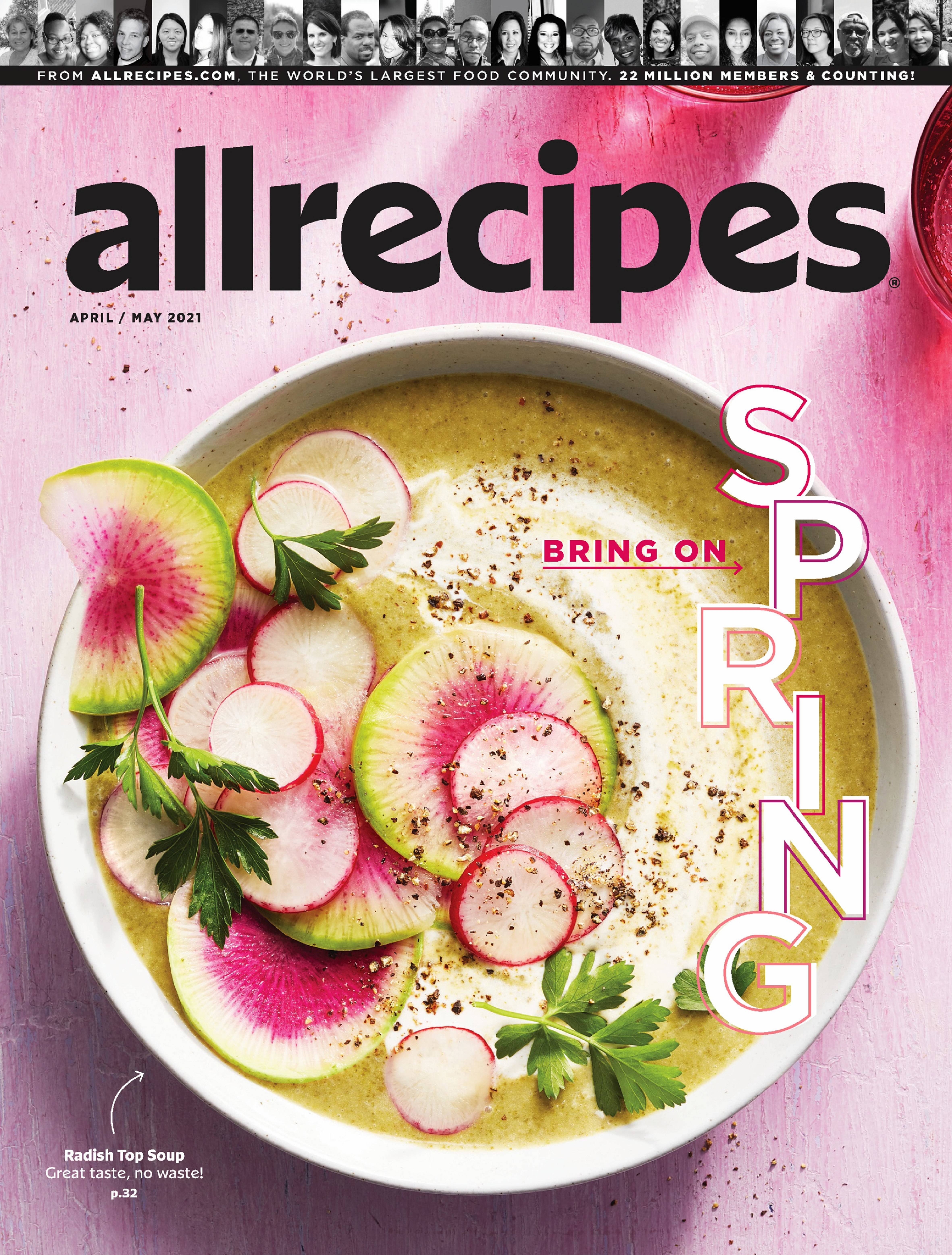 Allrecipes Apr/May 2021