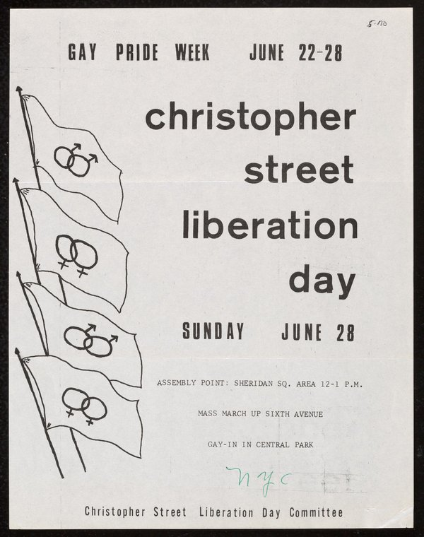 Christopher Street Liberation Day poster