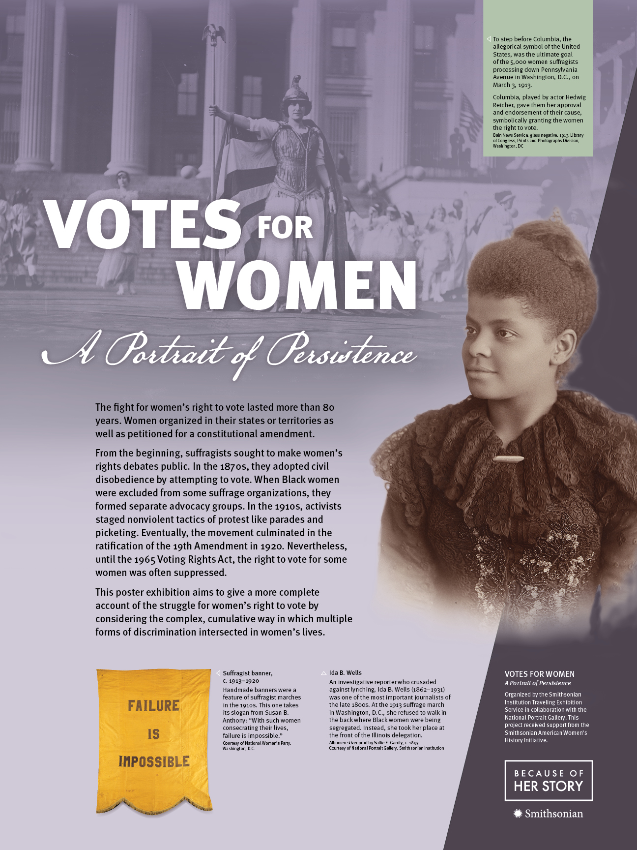 Votes for Women Poster 1