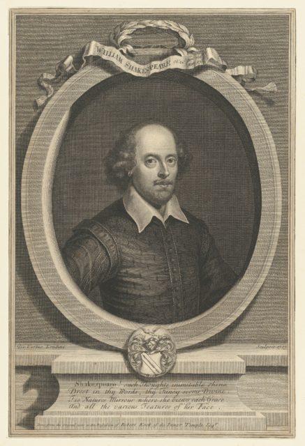 1719 Portrait of William Shakespeare