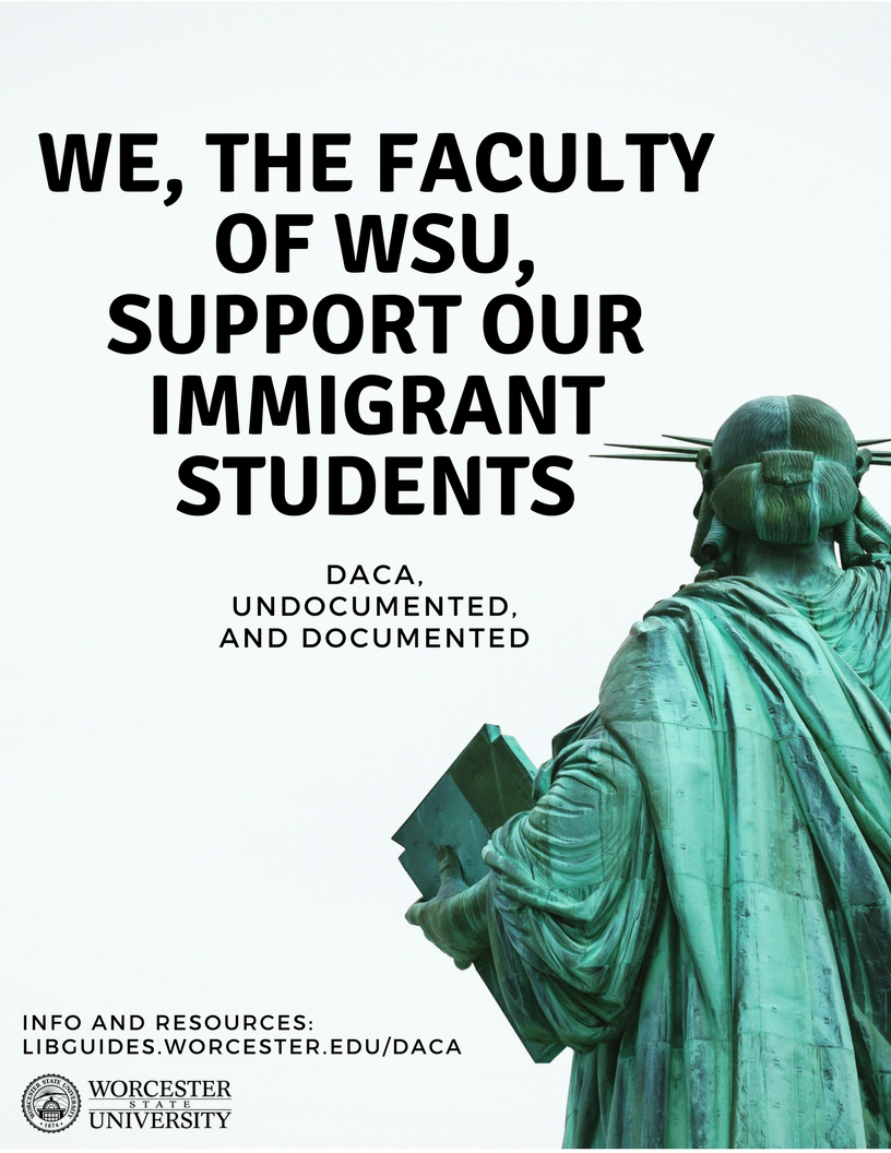 We the faculty of WSU support our immigrant students