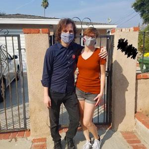 Joanna Parypinski and husband Jake