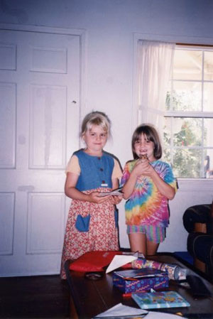 Ellen and Lauren