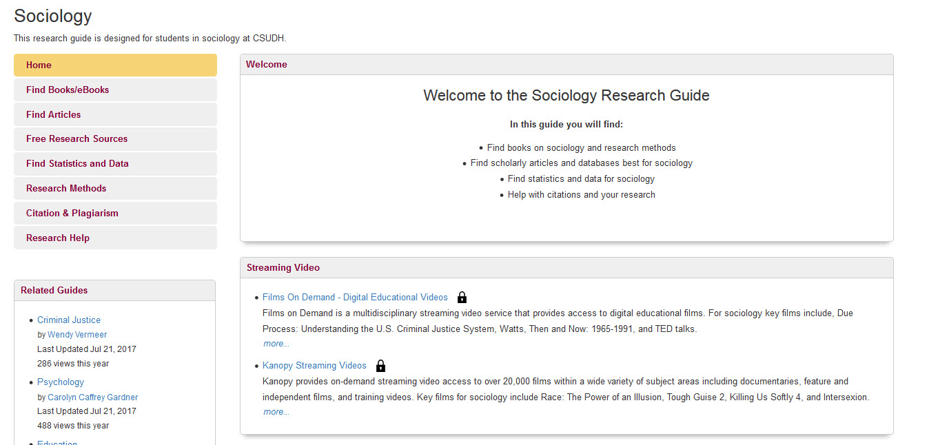 embedded Sociology Research Guide