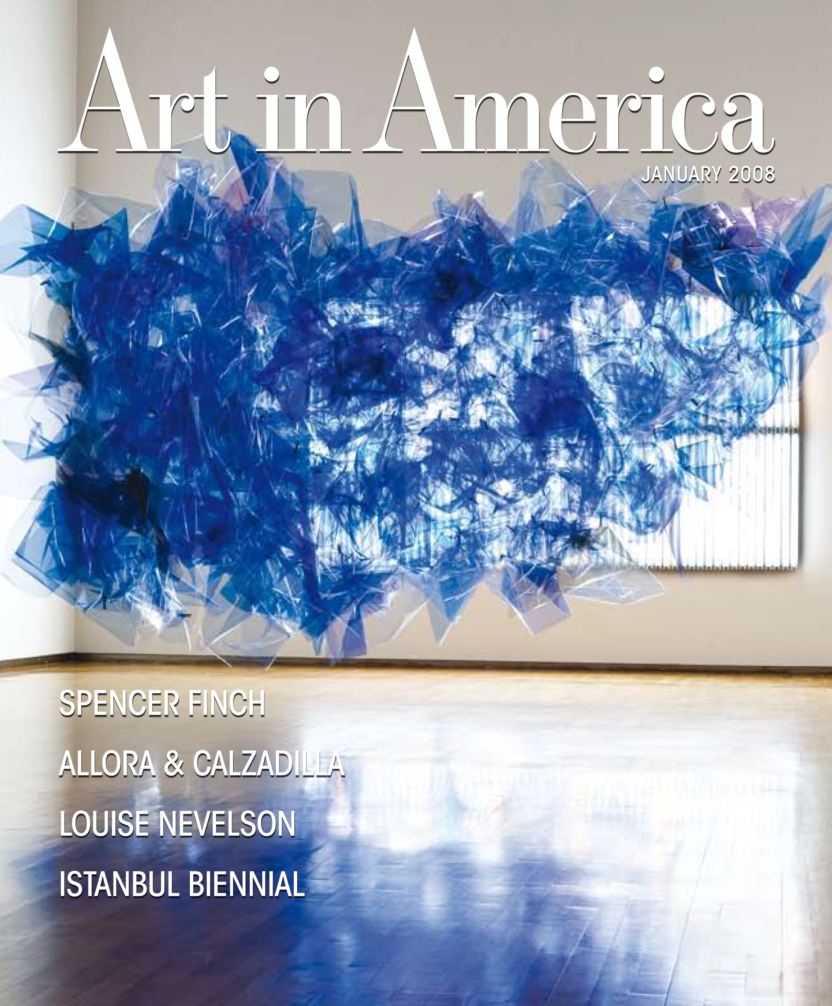 Art in American Magazine Cover