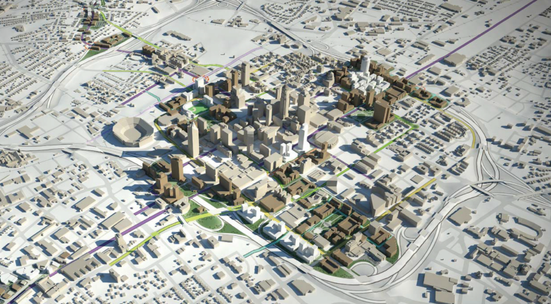 Charlotte Center City 2020 Vision Plan