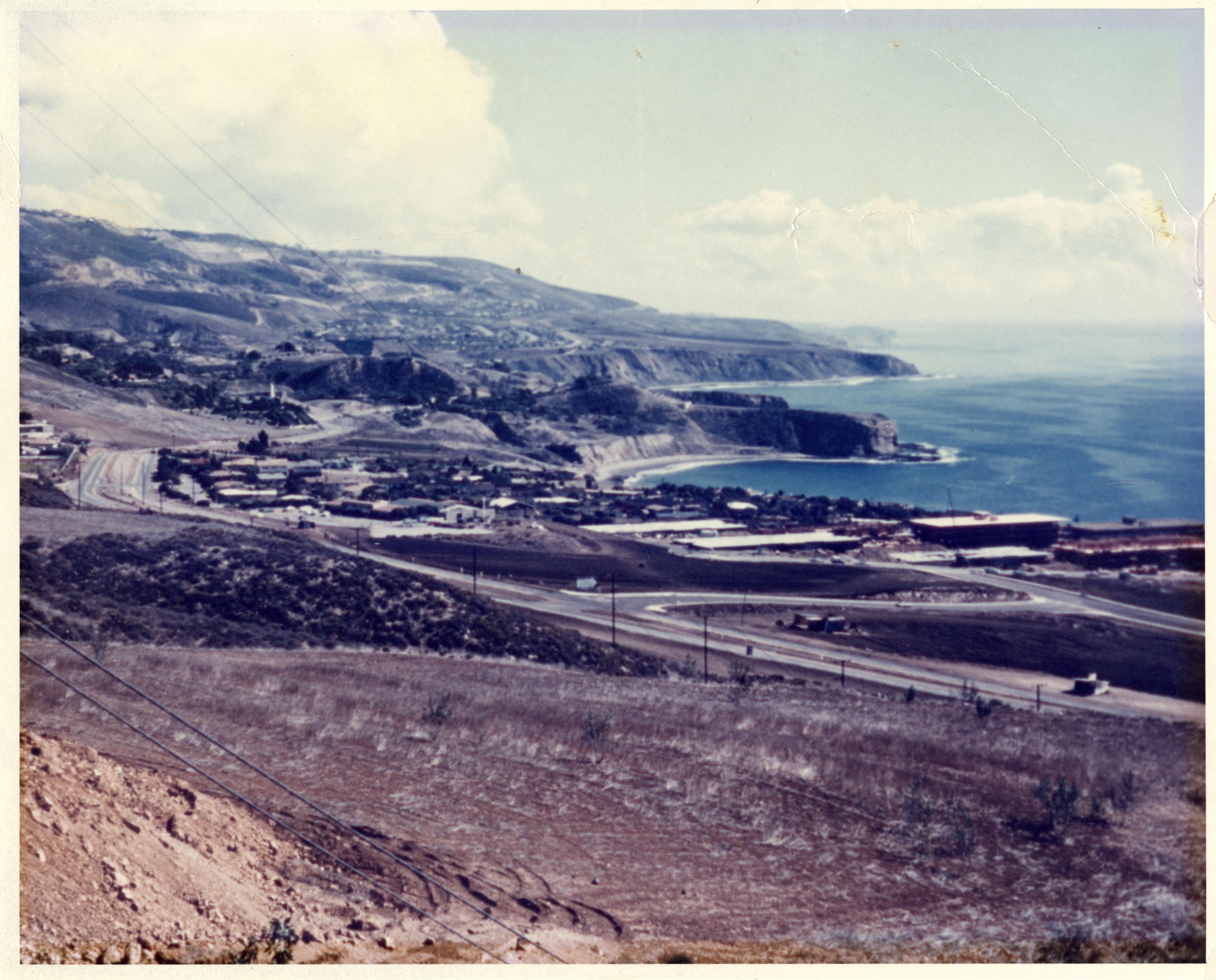 Proposed site of CSC Palos Verdes campus overlooking Pacific Ocean
